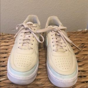 Nike Air Force 1 Aqua/Cream